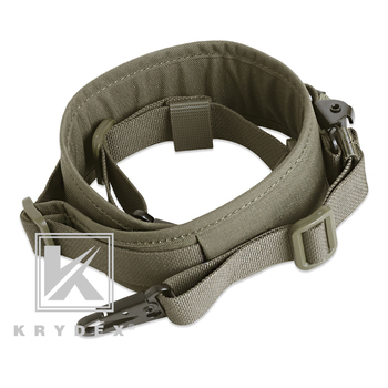 KRYDEX Modular Rifle Sling Strap Removable Tactical 2 Point / 1 Point 2.25 5