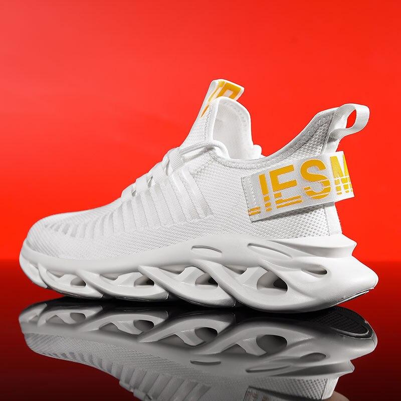 Running Shoes for Man 2019 Summer Sport Shoes Men Jogging Footwear Outdoors Lightweight Breathable Men Shoes Sock Men Sneakers