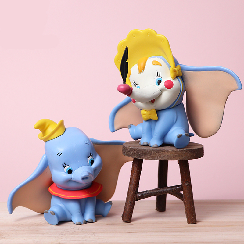 Movie Dumbo Anime Figures PVC Action Figure Toys Figurine Collection Figura 10CM Children Birthday Gifts