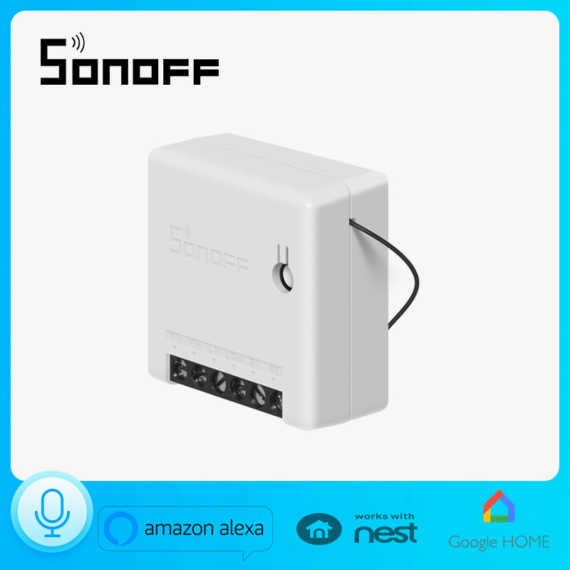 Sonoff MINI Dual-control Intelligent WIFI Switch Directional Control Supports Amazon Alexa Voice
