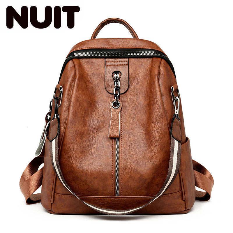 Fashion Women Backpack High Quality Youth Pu Leather Backpacks For Teenage Girls Vintage Female School Shoulder Bag Bagpack