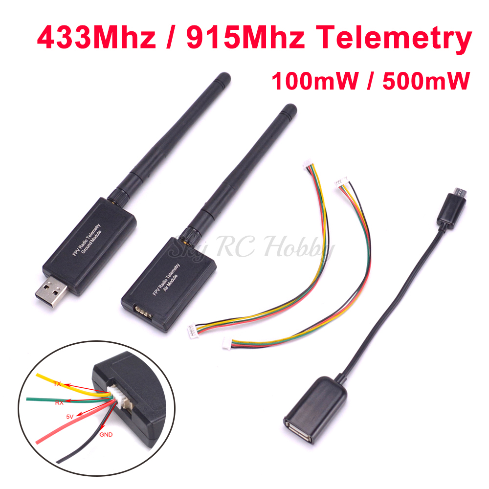 Mini Radio Telemetry Set 433MHz 915Mh 100mW Module for APM2.8 APM Pixhawk PX4 FC