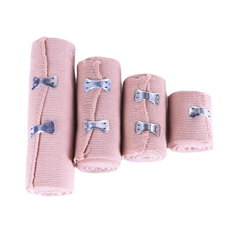 1 Roll Medical High Elastic Bandage Emergency First Aid Hemostatic Bandages Wound Dressing Bandaging Physical Exercise Protect