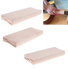 MagiDeal 3x עץ רדיוס מלטש בלוק Luthier גיטרה Fretboard להתרגז פילוס(China)
