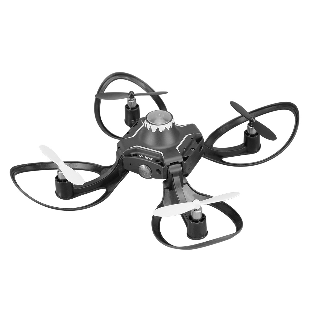 New Products Gesture Control Unmanned Aerial Vehicle Image Transmission Mini Folding Airplane Quadcopter Somatosensory Remote Co