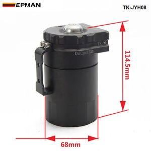 Image 2 - EPMAN Sport Universal Aluminium Öl Fangen Können Reservoir Tank 400ml + Entlüftungsfilter TK JYH08