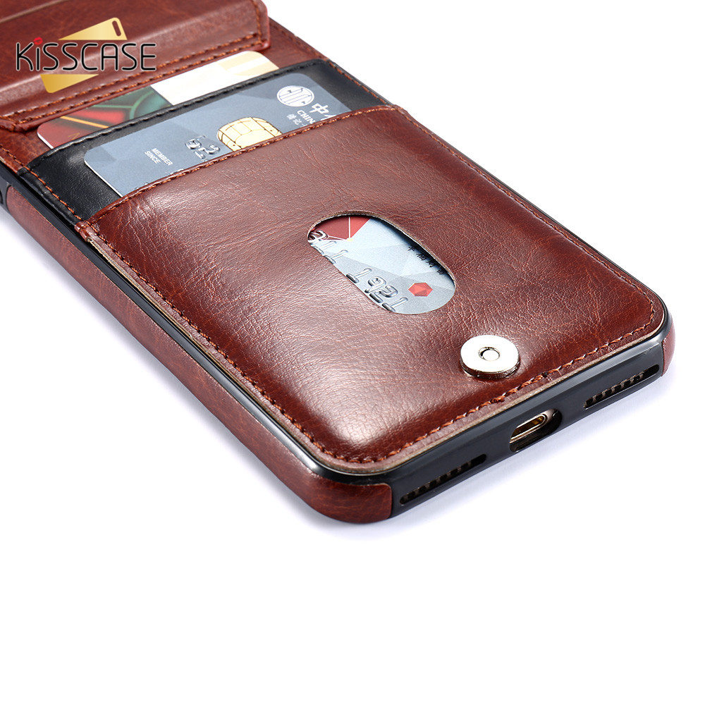 H63fc02fde22b43e1bfe7c8a1b57cbf35G KISSCASE Vertical Flip Card Holder Leather Case For iPhone 6s Cover For iPhone 7 Wallet Case 8 XR 11PRO MAX 11 чехол на айфон 6s