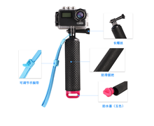 цена на For Go Pro Gopro Hero 7 6 5 4 3 Xiaomi Yi 4K SJ4000 SJ5000 Action Camera Water Floating Hand Grip Handle Mount Float Accessories