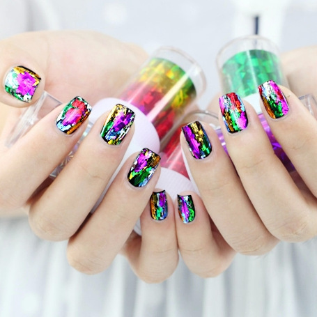 Manufacturers Direct Selling Manicure Star Stickers Universe A Harajuku Star Nail Sticker Taobao AliExpress Nail Sticker
