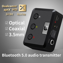 APTX HD Bluetooth 5.0 Transmitter CSR8675 Audio Music Wirele