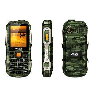 Image 2 - Большая батарея, большая мощность, прочный телефон, громкий звук, внешний аккумулятор, фонарик, большая русская клавиша, Bluetooth, быстрый набор, сотовый телефон Gofly