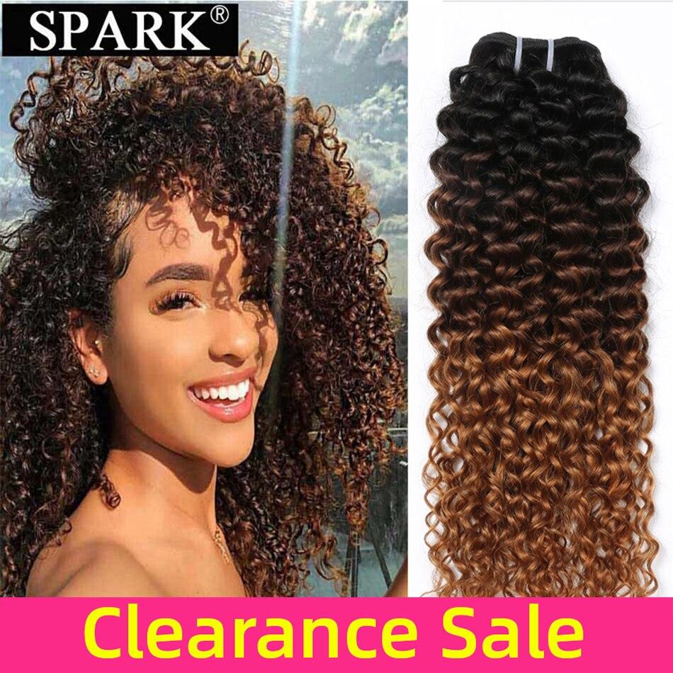 Afro Kinky Curly Human Hair Weave  1