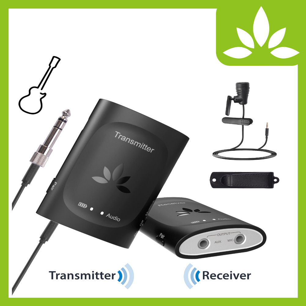 2.4G Wireless Guitar System Wireless Audio Recording System- TC240