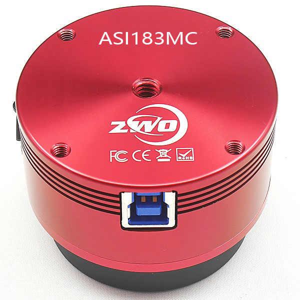 Цветная астрономическая камера ZWO ASI183MC ASI, планетарная, солнечная, Лунная, гидирующая/высокоскоростная USB3.0 ASI183 MC ASI 183MC ASI 183 MC