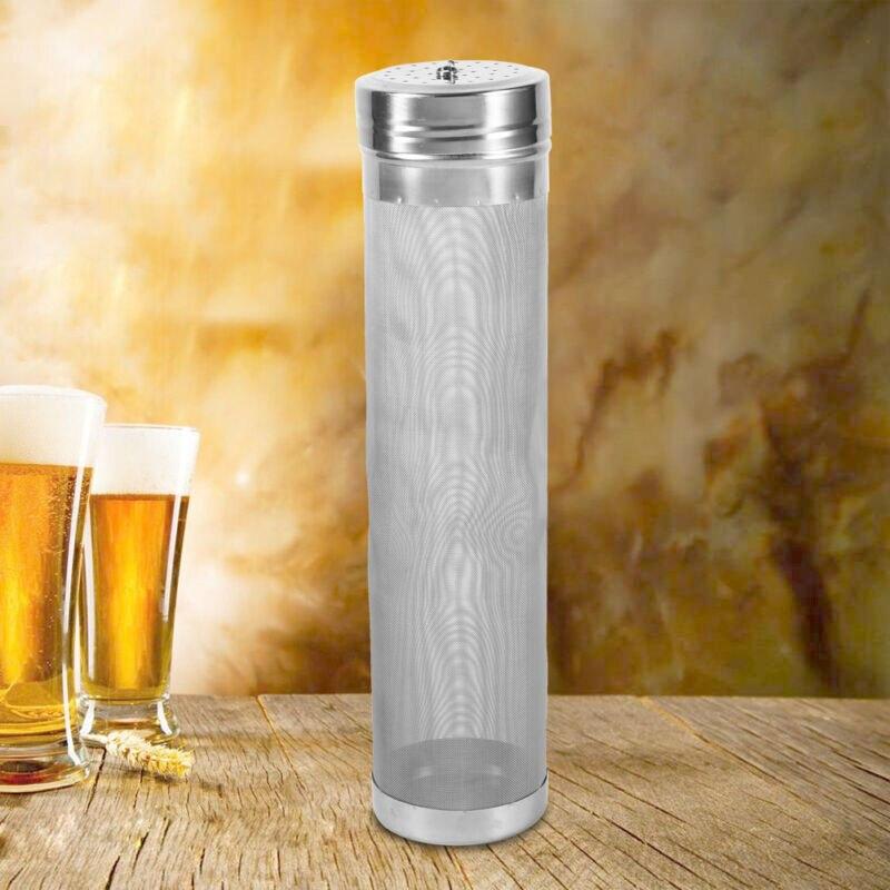 Filter Brewing Hopper Strainer Stainless Steel Mesh Homebrew Hops Beer & Tea Kettle Brew Filter