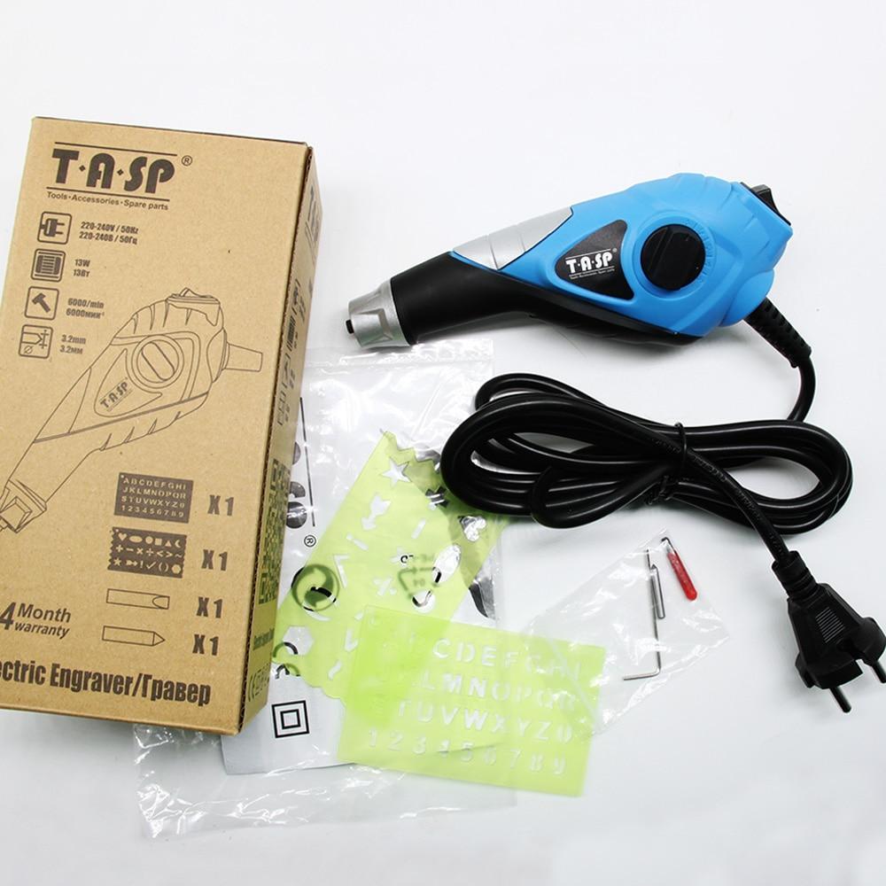 TASP 220V Penna per incisione elettrica a velocità variabile in - Utensili elettrici - Fotografia 6