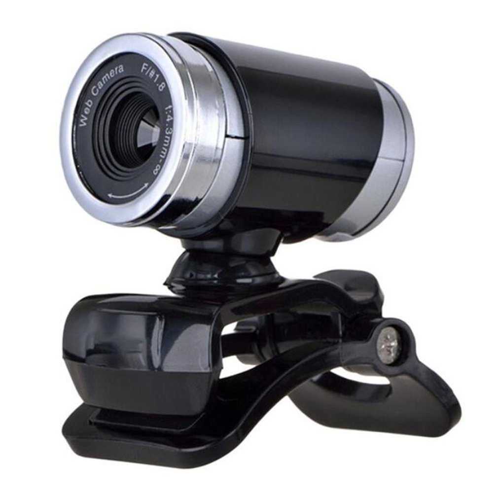 Rotatable Camera HD Webcam 720P Portable USB Camera Video Recording Web Camera With Microphone For PC