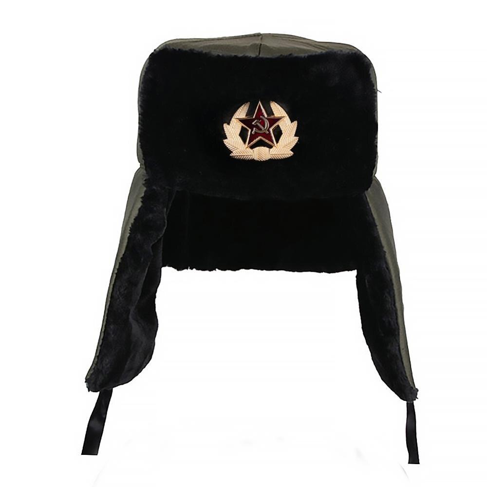 Logobeing Unisex Sombrero de Invierno Orejeras Felpas Pelo Sombrero Ruso de Esqu/í Orejeras de Felpa Acolchado C/álido Gorra Plana Aire Libre