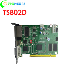 Good price DVI HDMI RGB Full color led display video wall controller Sending card Linsn TS802 TS802D TS921