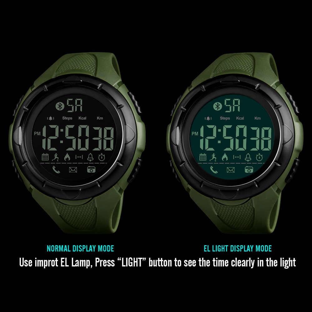 Skmei Mannen Digitale Horloge 5Bar Waterproo Klok Sport Horloges Calorieën Chrono Stappenteller Elektronische Relogio Masculino 1326
