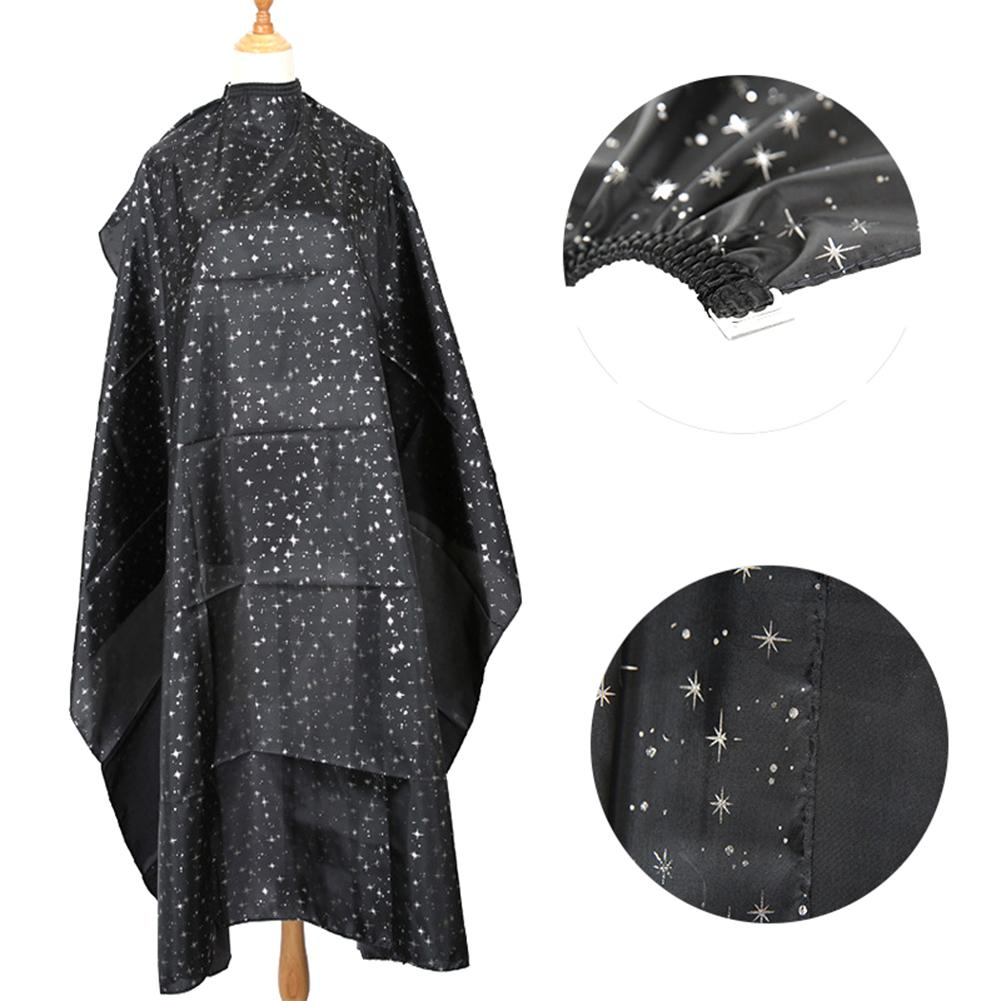 Star Print Adults Home Salon Pro Hairdressing Cape Cloth  Apron Hair Cutting Gown Cape Hair Style Accessories