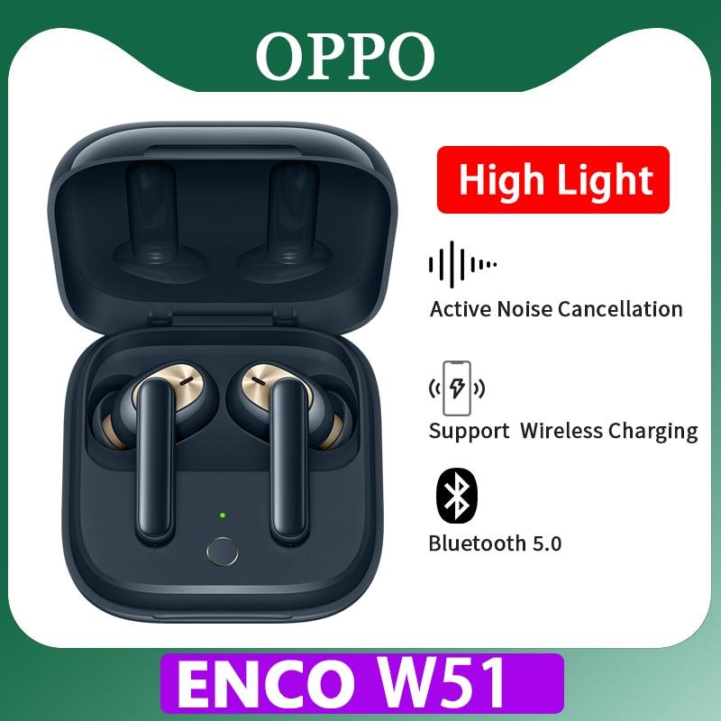 Оригинальные наушники ETI02 OPPO ENCO W51 W31 tws, Беспроводная Bluetooth-гарнитура Reno ace 3 Pro 2z 2f 10x zoom Find x2 a5 a9