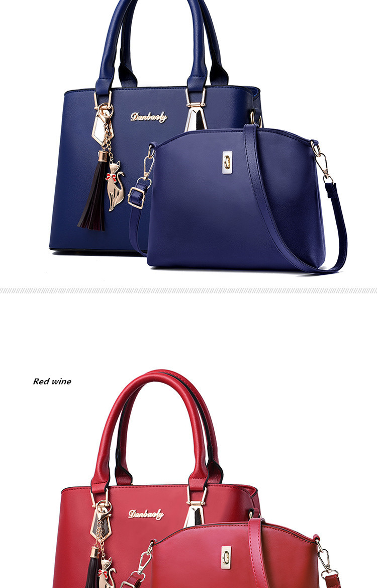 H63fd8acbc1ba49c2a2d53f8f41710560L - Fashion Woman Bag Female Hand Tote Bag Messenger Shoulder Bag  Lady HandBag Set Luxury Hand bag composite bag  bolsos
