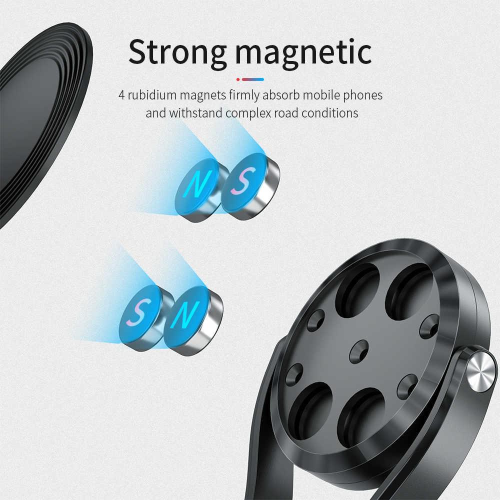 FPU magnétique voiture Support de téléphone Support Support magnétique pour téléphone dans la voiture universel Mobile GPS Support pour iPhone 11 Xiaomi mi 9