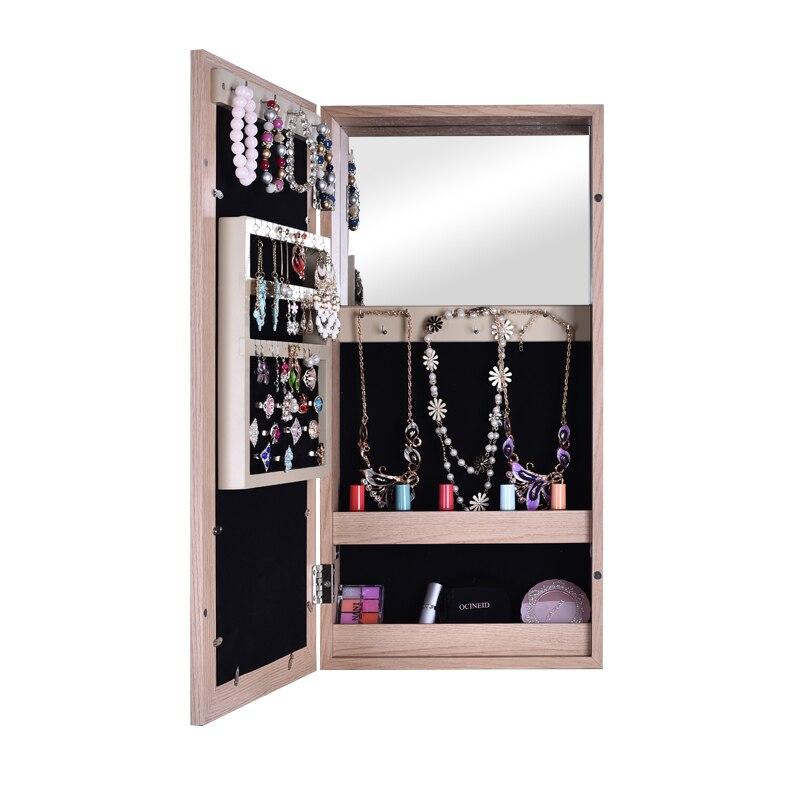 KingYee Photo cadre maquillage miroir moderne minimaliste maquillage miroir chambre bijoux stockage maquillage armoire salon créatif st