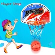 Детский баскетбольный обруч, уличный, комнатный, настенный, мини, баскетбольная игра, набор игрушек, спортивные игрушки для родителей и дете...