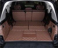 3d luxo cheio traseiro tronco bandeja forro de carga esteira protetor almofada esteiras para bmw x7 g07 2019 2020 2021 6 seat/7 seatsyear -