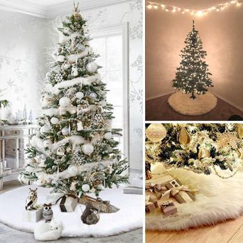 Alfombra envolvente árbol de Navidad falda 90cm/122cm no tejido suave delicado hermoso Festival Navidad adorno decoración fiesta en casa