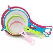 4pcs/Sset Kitchen Strainer Sieve set Handle Plastic Tools Multi Purpose Gadget accessories
