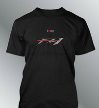 T-shirt personnaliser FZ1 S M L XL XXL homme col rond moto FZ 1