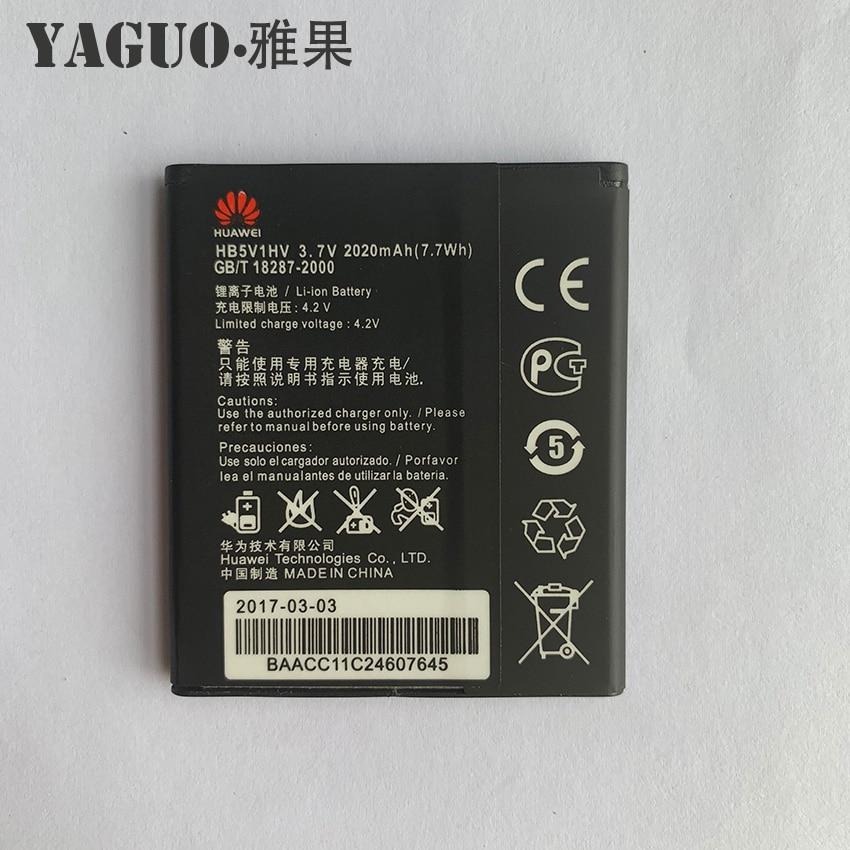 100% New Original 2020mAh HB5V1&HB5V1HV Battery For Huawei Honor Bee Y541 Y5C Y535C Y541-U02 y560-U02 4.5 inch Cellphone