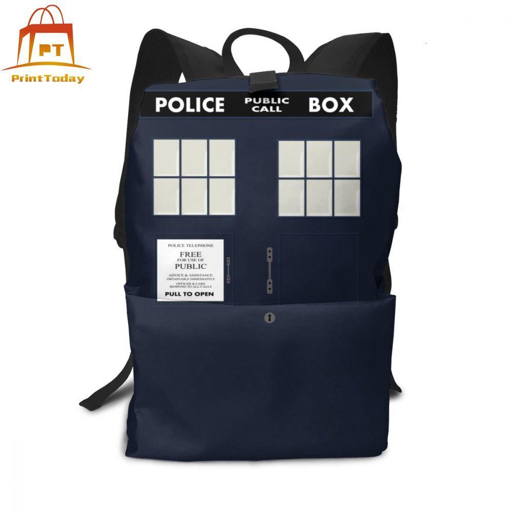 Tardis Doctor Who Backpack Tardis Doctor Who Backpacks High Quality Men - Women Bag Student Print Bags