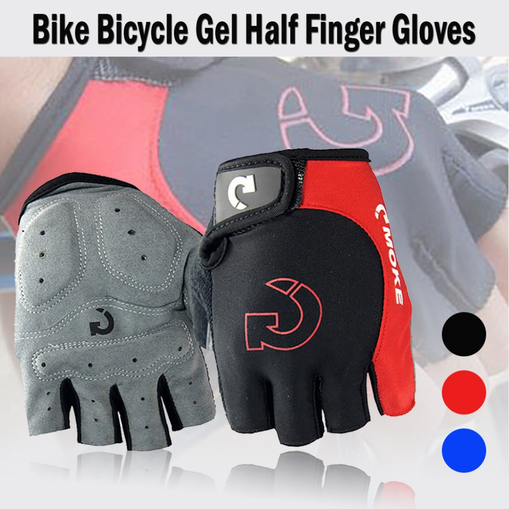 Cycling gloves male half finger bicycle gloves summer mountain bike gloves outdoor riding equipment gloves gel half finger 30N18 (11)