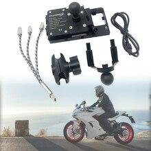 Per Ducati 939 939S Supersport SuperSportS 2017 2018 2019 2020 Del Telefono Del Supporto Del Basamento Del Telefono Smartphone GPS di Navigazione Utilizzabile Piatto di Staffa