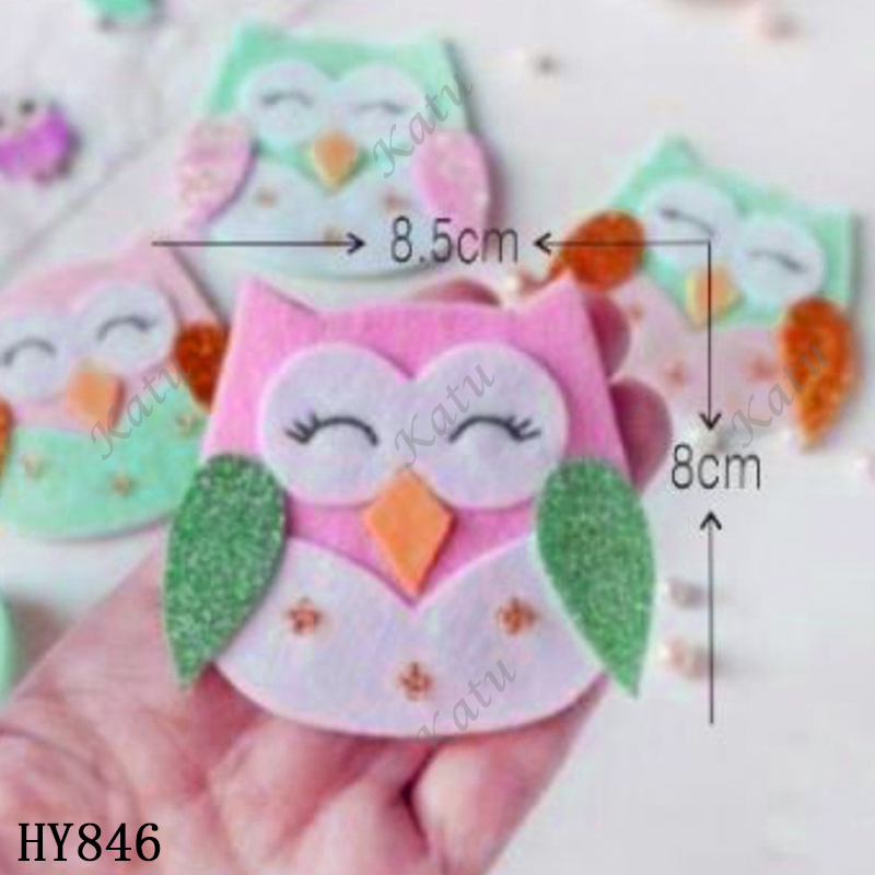Owl Cutting Dies New Die Cut &wooden Dies Suitable  For Common Die Cutting  Machines On The Market