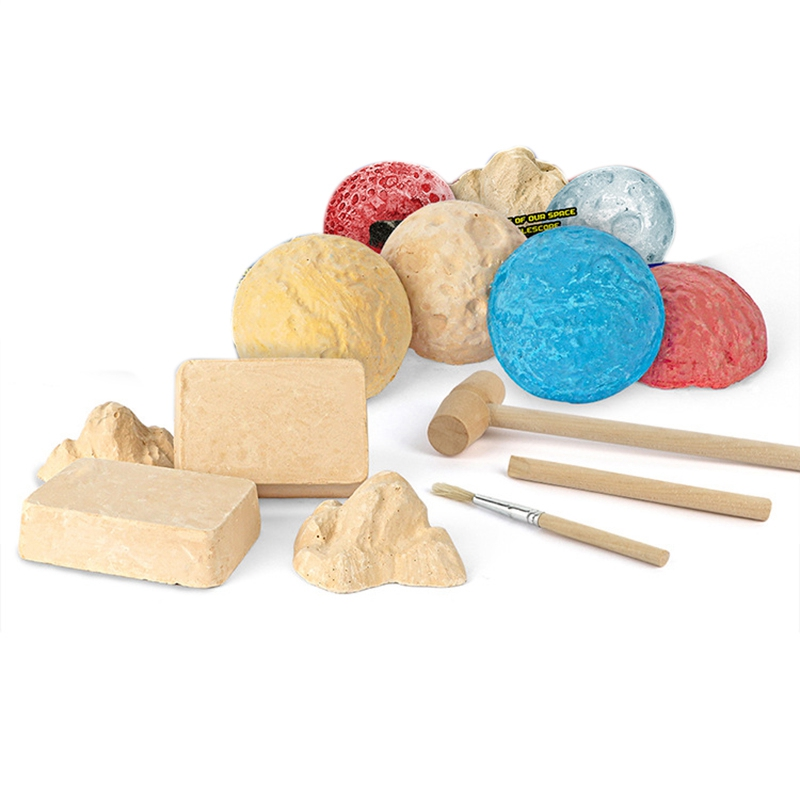 Colorful Gemstone Dig Kit Excavation Kit Kids DIY Science Educational Archaeological Toys Gifts Biology Toy