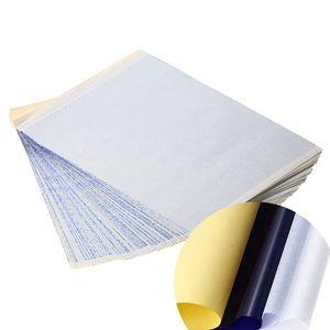 Image 3 - 100 גיליונות העברת סטנסיל נייר קעקוע מכונת צילום 4 שכבות A4 גודל כלי