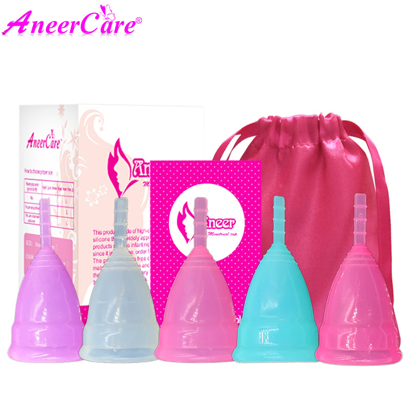 10Pcs Hot Sale Medical Grade Silicone Menstrual Cup For Women Feminine Hygine Product Health Care Aneer Cup HIgh quality