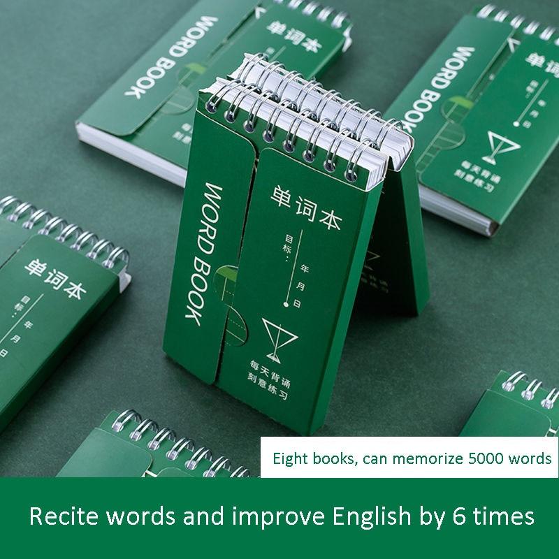 Cuaderno pequeño con anilla y hebilla en inglés, portátil, de bolsillo, para tareas manuales, Libros, Libros, arte chino