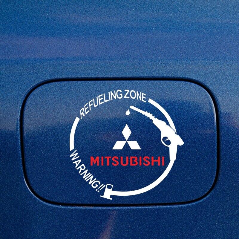 1 шт Защитная Наклейка на крышку топливного бака для mitsubishi