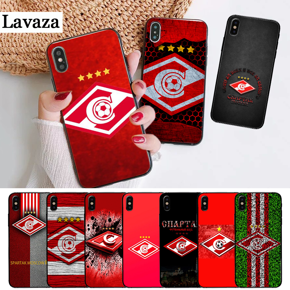 121F Spartak Moscow Luxury Unique Silicone Case for iPhone 5 5S SE 2020 6 6S 7 8 Plus X XS XR 11 Pro Max