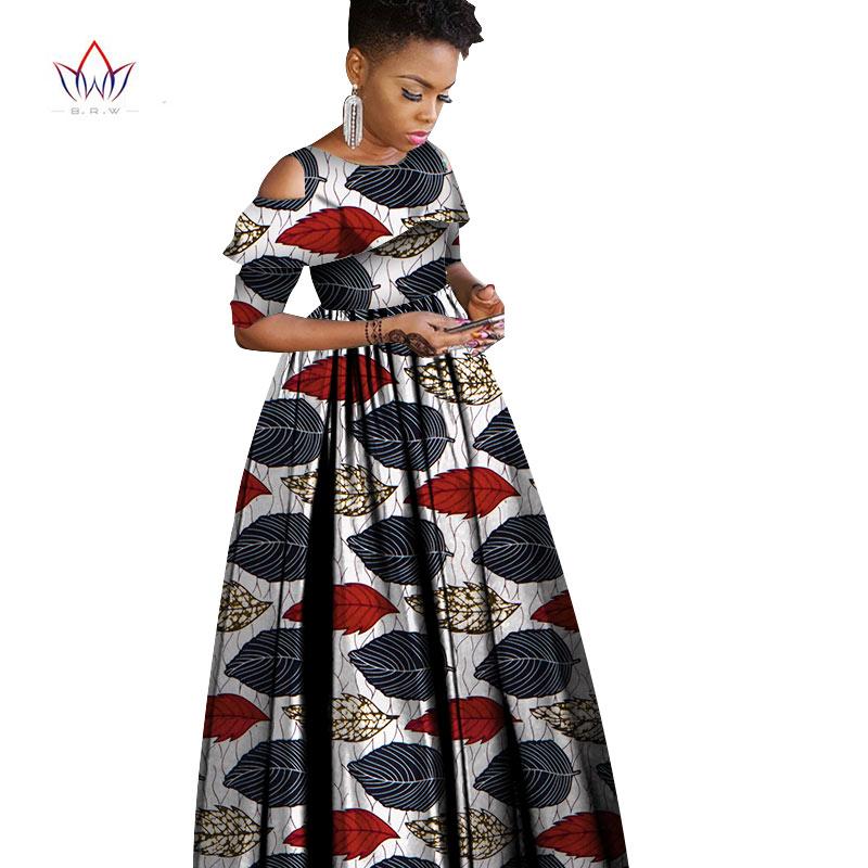 Новинка 2021 летние и осенние африканские платья для женщин