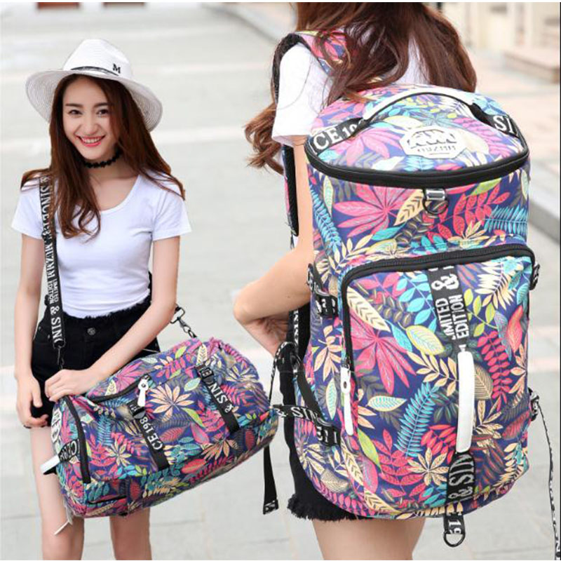 Outdoor Backpack For Gym Bag Men Big Fitness Luggage Travel Backpack For Women Yoga Bags School Bookback For Students Tote Bag