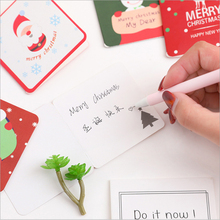 1Pcs/lot Mini Christmas series With Envelope Postcards Greeting Cards Birthday Festival Invitation Gift Student Office