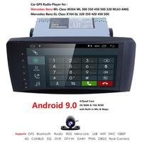 9 Inch Android 9.0 Car NO DVD Player For Mercedes Benz ML CLASS W164 ML350 ML500 X164 GL320 GL500 GL350 GL450 Camera RDS DTV IN
