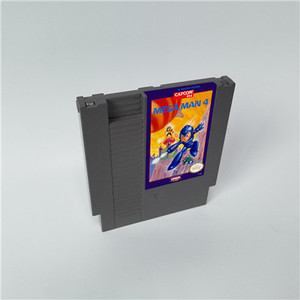 Image 4 - Mega Man 1 2 3 4 5 6 vardır 6 seçenekleri, her seçeneği sadece bir oyun Megaman   72 pins 8bit oyun kartuşu